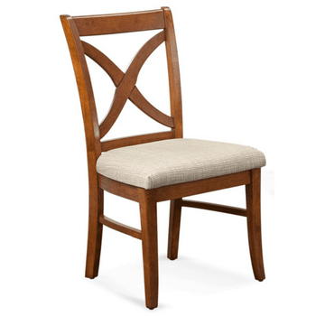 Hues Dining Side Chair in Havana finish