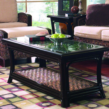 Innisbrook Coffee Table With Glass Top