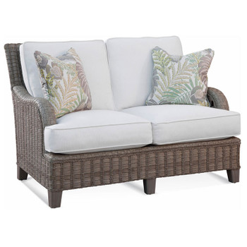 Lake Geneva Outdoor Loveseat in fabric '6368-91 D'