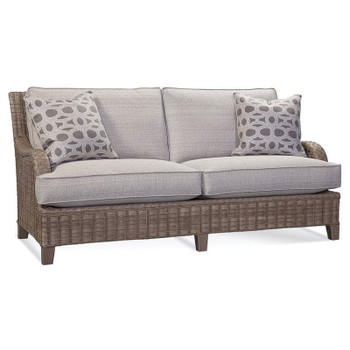 Lake Geneva Sofa in Driftwood Finish and fabric 6358-84