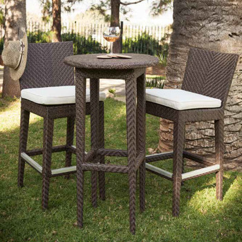 Atlantis 3 pc. Pub Set with cushions