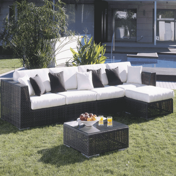Atlantis Outdoor 6 piece Sectional Set
