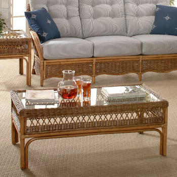 Nassau Coffee Table in Honey Finish