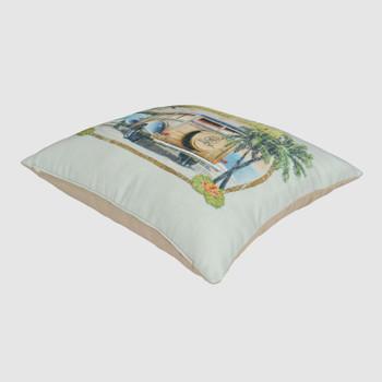 No Problems Throw Pillow