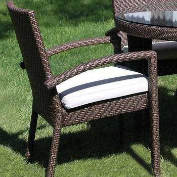 Atlantis Outdoor Dining Armchair with Cushion