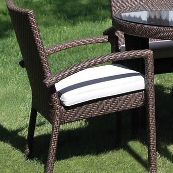 Atlantis Outdoor Dining Armchair with Cushion