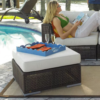 Atlantis Outdoor Ottoman