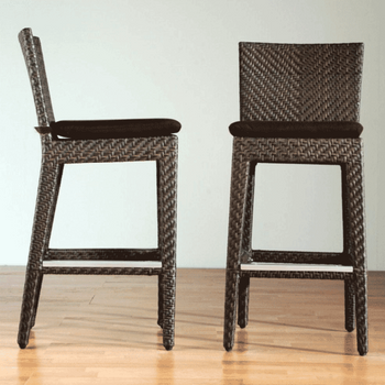 Atlantis Outdoor Wicker Barstool