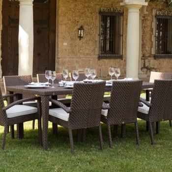 Atlantis Outdoor Rectangular Dining Table 40x78