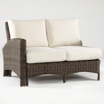 Panama One Arm Loveseat Left-Side Facing