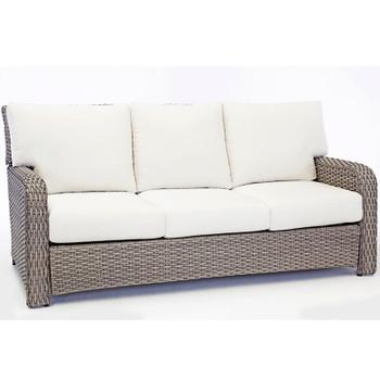 Saint Tropez Outdoor Sofa in Stone finish