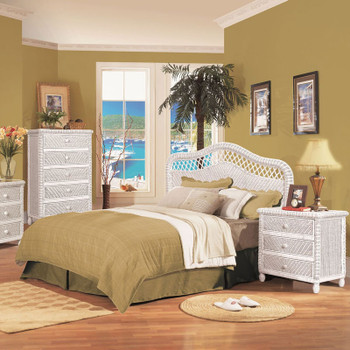 Santa Cruz Bedroom Collection in White finish