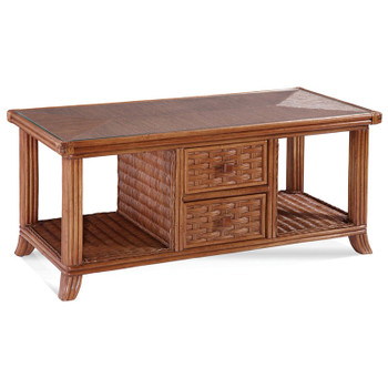 Somerset Cocktail Table in Havana finish