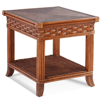 Somerset End Table in Havana finish