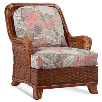 Somerset Lounge Chair in Havana finish