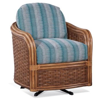 Somerset Swivel Chair in Honey finish