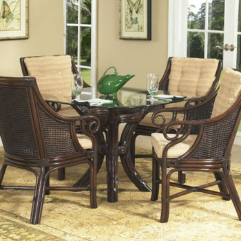 Windsor 5 piece Dining Set with Arm Chairs