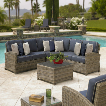 Bainbridge Outdoor 4 piece Sectional Set