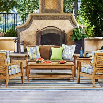 The Laguna Outdoor Collection is both beautiful and functional.