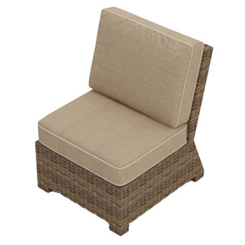 Bainbridge Replacement Cushions for Outdoor Sectional Middle Chair