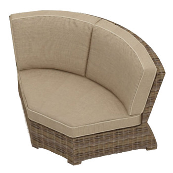 Bainbridge Outdoor Sectional 45 Degree Corner Chair