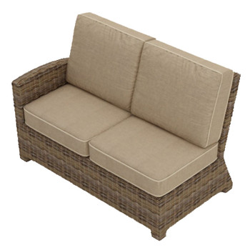 Bainbridge Outdoor Sectional Left Arm Loveseat