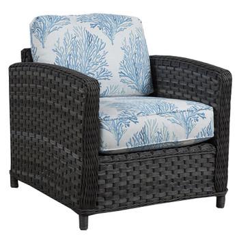 Lorca Outdoor Chair - Aquaria Blue Fabric