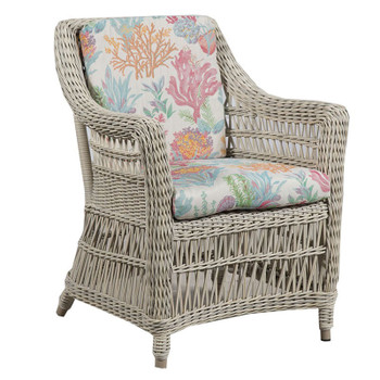 Paddock Outdoor Arm Chair - Seas Fiesta Fabric