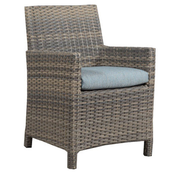 Mambo Outdoor Arm Chair - Adena Azure Fabric
