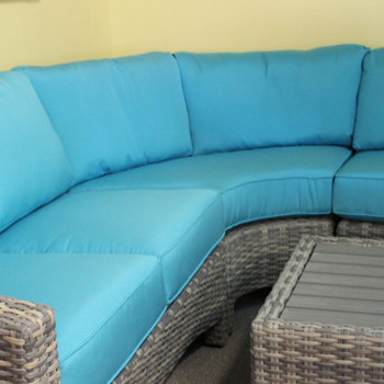 Mambo Outdoor Sectional Armless Wedge