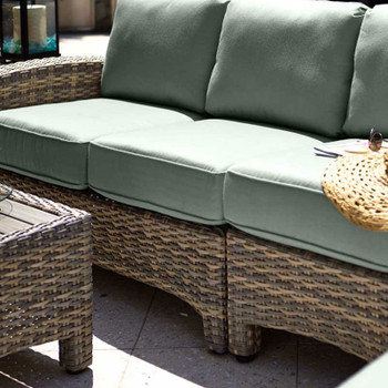 Mambo Outdoor Sectional 1-Arm Loveseat