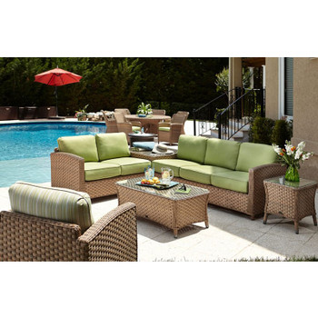 El Dorado Outdoor 5 pc. Sectional Set