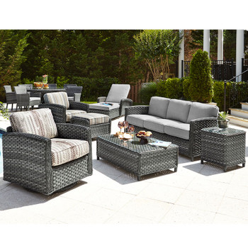 Lorca Outdoor 7 piece Seating Set
