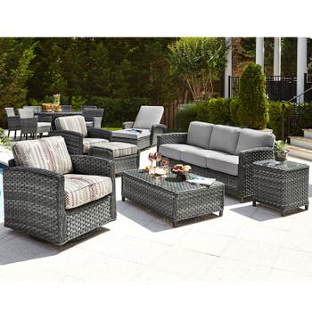 Lorca Outdoor 7pc Seating Set