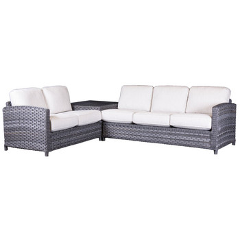 Lorca Outdoor 2 piece Sectional Set