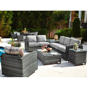 Lorca Outdoor 5 piece Sectional Set