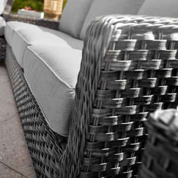 Close-up of Lorca Outdoor 1-Arm Sofa Right