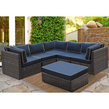 Bellanova Outdoor 6 piece Sectional Set