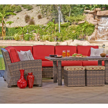 Lakeside Outdoor 5 pc Sectional Set