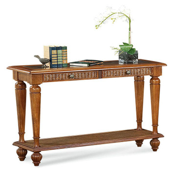 Grand View Console Table in Havana finish