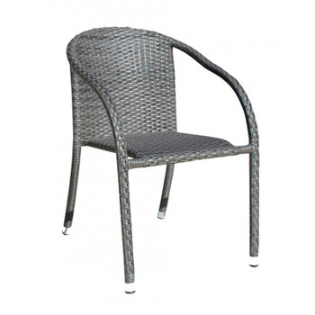 Spectrum Outdoor Stackable Woven ArmChair