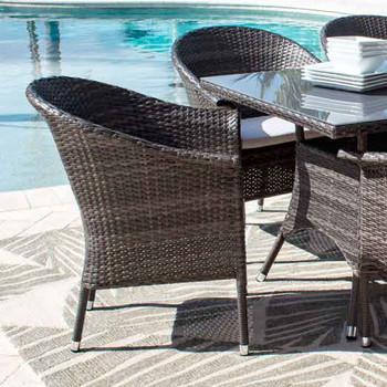 Spectrum Outdoor Stackable Woven Armchair