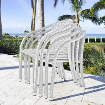 Santorini Outdoor Stackable Armchairs