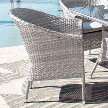 Santorini Woven Armchair
