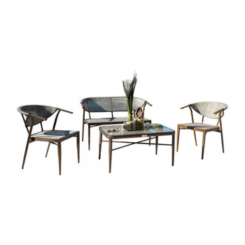 Valdosta 4 piece Outdoor Seating Set