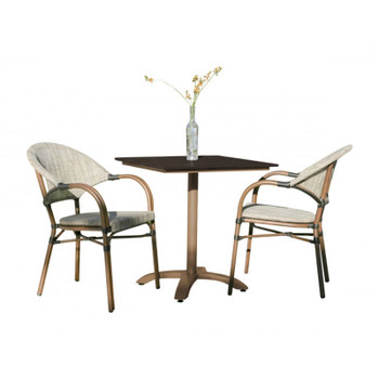 Valdosta Outdoor 3 piece Bistro Set