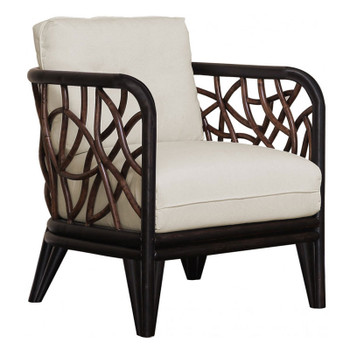 Trinidad Lounge Chair with Indoor Beige Fabric