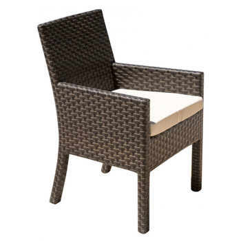 Samoa Outdoor Dining Stackable Armchair with Cushion
