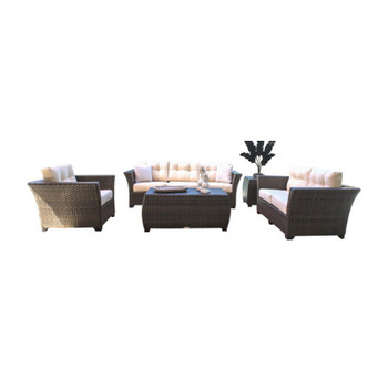 Samoa 5 piece Outdoor Seating Set