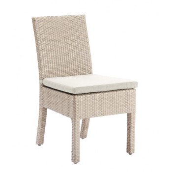 Cubix Outdoor Dining Stackable Side Chair
